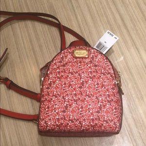 Michael Kors NWT Authentic Mini Abbey Backpack